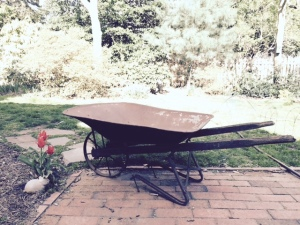Grandpa Sam's wheelbarrow
