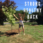 strong healthy back